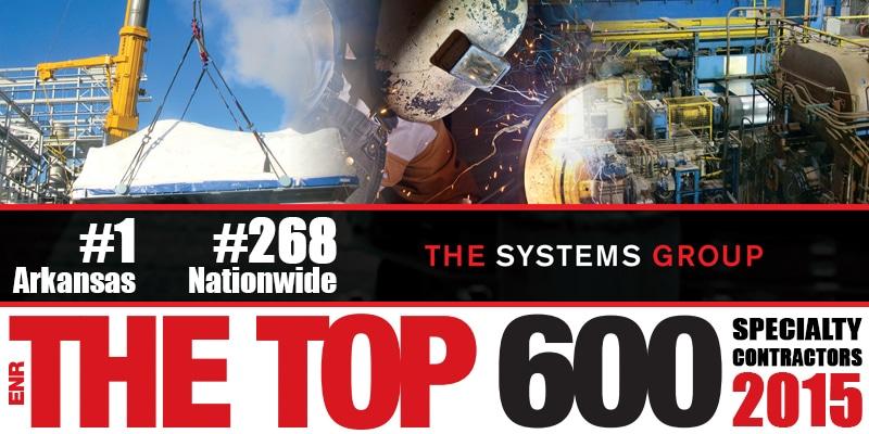 Top 600 ENR Specialty Contractor 2015
